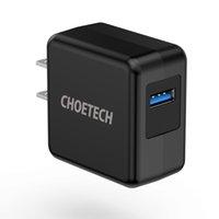 Choetech Quick Charge 3.0، 18W شاحن الجدار USB