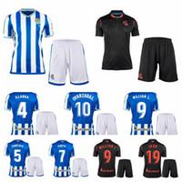 Real Sociedad 2020 2021 Soccer 9 Willian Jose Jersey Set 10 Mikel Oyarzabal 19 Alexander Isak 11 Adnan Januzaj Odegaard Camisa Kits