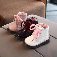 fashion kids shoes princess girls martin boots designer baby toddler little retail 88fj#