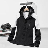 Men's Jackets Plus Size 6XL 7XL 8XL Women Men`s Streetwear Outdoor Hiking Windbreaker Hooded Coats Male Waterproof Baseball Jacket Clothing