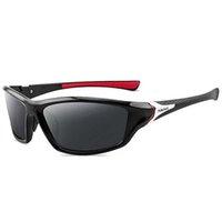Gafas de sol Mougol Polarized Nightview Men Ride para Square Sports Mark Luxury Mirror Shades Oculos El Sol