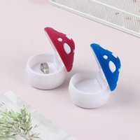 Jewelry Pouches, Bags Gift Functional Ring Box Display Holder Container Package Mushroom
