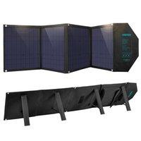 Choetech 80W solar painel ao ar livre portátil com saída DC para gerador de estação de energia Camping RV Monocrystalline dobrável