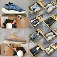 Eur 36-48 yeezy kanye west 350 v2 V3 Azael Alvah Arzareth 700 Static Sun Running Shoes 500 Blush Carbon Ash Blue Pearl Sneakers da uomo Sneakers da donna con scatola