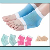 Foot Treatment & Beautyfoot Chapped Tool Moisturizing Gel Heel Socks Cracked Skin Care Protector Pedicure Health Monitors Masr Ship Drop Del