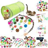 Cat Toys Kit Mouse Shape Balls Shapes Kitten Love Pet Toy 21 Set Channel Funny Stick Supplies Value Bundle