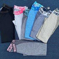 Ginásio tubarão fitness mulheres treinamento pêssego quadril calças de yoga