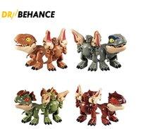 Novità Giochi Deformati Dinosaur Toy Q versione di Tyrannosaurus Rex Simulazione per bambini Dinosaurs Model Factory Direct