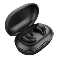 New C8 TWS bluetooth earphones wireless earbuds breathing light mini bluetooth earplugs binaural 5.0 sports support wireless charging box