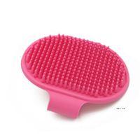 Собачья ванна кисть гребень силиконовый Pet Spa шампунь массаж кисти для душа для волос для волос для очистки домашних животных