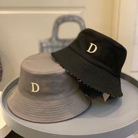 2021 uomini da donna secchio cappello all'aperto abito cappelli largo fedora cotone solare cotone unisex protezione solare stile classico designer di stile lussuosi