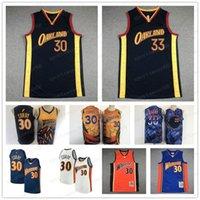 2021 Erkekler Stephen 30 Köri Klay 11 Thompson Jersey Basketbol James 33 Wiseman Retro Jerseys City New Edition Dikişli