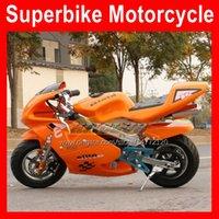 49cc Mini Scooter Moto Bike Easy Start Super Motobike Kleine Kinderen Volwassen Motor Amusement Net Autocycle Real Sports Motor Auto Party Benzine Motorfiets