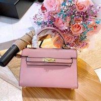 حقيبة الكتف رسول هيرمتي 2021 كيسي 2 h- زر جلدية حقيبة المرأة حقيبة صغيرة حقيبة صغيرة G1WY FO38