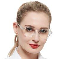 Occi Chiar Runde Lesebrille Frauen Vintage Brillen Lesung Vergrößerung Presbyopia Transparente Brillen Gafas de Lectura +2