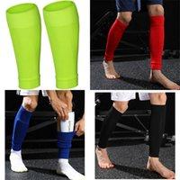 1 Çift Yükseklik Esneklik Futbol Futbol Shin Guard Yetişkin Çorap Pedleri Profesyonel Legging Shingingard Kollu Koruyucu Dişli 97 X2