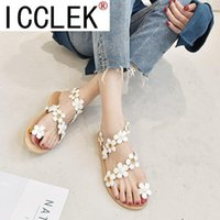 2021 Women Sandals Summer New EVA Casual Mixed Candy Colors ...