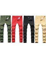 Мужские плюс размер брюки джинсы мужчина Swag мужской дизайнерский бренд черный тощий разорвал разрушенные растягивающиеся стройные фигурные прыжки с отверстиями для мужчин мода повседневная 6607