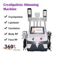Machine de cryolipolyse portable 360 degrés Vacuum Freeze Freeze Minceur Machine double menton Cavitation ultrasonique Machine minceur