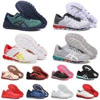 2021 Outdoor GEL-Quantum 360 Koşu Ayakkabısı 5 JCQ Erkek Bayan Yeşil Beyaz Kırmızı Sarı Gri Lacivert Tenis Yastıklama Sneakers Runners Trainers 36-45