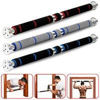 Verstellbare Tür Horizontale Bars Übung Home Workout Gymnastikkind hoch Pull Up Training Bar Sport Tragbare Fitnessausrüstungen