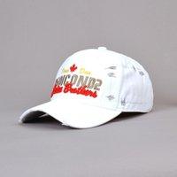 D2 씻은 면화 야구 모자 아이콘 문자 야구 모자 남성용 아빠 모자 자수 캐주얼 모자 힙합 모자 105