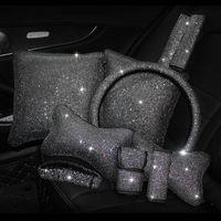 Safety Belts & Accessories Auto Set Auger General Hand Brake Sets Gear Hold Pillow Headrest Waist Steering Wheel Shoulder Interior