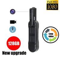 액션 비디오 카메라 HD 1080P 웨어러블 바디 펜 디지털 미니 DVR 작은 DV 캠코더 마이크로 지원 128GB 스포츠 카메라