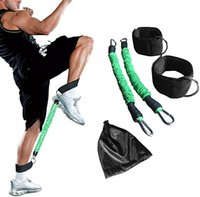 Resistance Bands 15-35LB Taekwondo Jump Step Training Tension Rope Leg Strength Belt Ankle Elastic