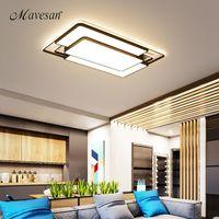 مربعة الحديثة جديد led سقف lihgts لغرفة المعيشة أضواء غرفة المطبخ lampada القهوة الصمام مصباح السقف مصابيح الإضاءة