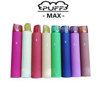 Puf Max 2000 Puffs Tek Kullanılabilir Yağ Teçhizatı 1200 mAh Pil 8.5ml Kartuş Boş Tek Kullanıcılar E Çiğ Pffpen Marş Kimleri Puf Bar XX