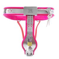 Stainless Steel Chastity Belt Female Y-Type Restraint Pants Lockable Cbt BDSM Bondage Sexy Toys For Women Strapon Harness Shop