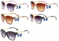 الصيف النساء أزياء الرياح النظارات الشمسية القيادة البلاستيك في الهواء الطلق شاطئ جلاس ركوب windproof الدراجات نظارات الشمس بارد النظارات القط العين 5 ألوان