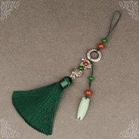 Broche pointillée Broche antique Chinois Chinois Cheongsam Bijoux Hanfu Taille Pendentif femelle Collier Boucle Mixte Mixte