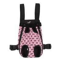 جديد أزياء الكلب القط كلب جرو حمل الحاملة الأمامية حقيبة الظهر في الهواء الطلق مع لطيف bowknot نمط دعم الحيوانات الأليفة للبيع 717 K2