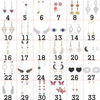 2020 Fahmi 925 Silver Silver Cute Bear Orecchino femminile Sweetheart Sweet Tempo libero gioielli originali per le donne