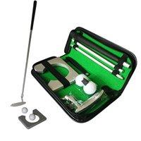 Классический мини портативный гольф-клубный клуб Ball Holder Putter Putting Home Office Office Обучение в помещении СПИДи в гольф
