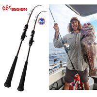 Barco de cañas de pescar Obsesión 1.98M Oceanus lento jigging señuelo Japón Fuji Guía Offshore Jig Atún Long Long Rod