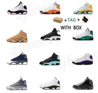 2021 Männer Basketballschuhe Sneaker Jumpman 13 13s 25th Niedrig High Jubiläum Bred Concord Reverse Grippe Spiel The Master Outdoor Sneakers # 585