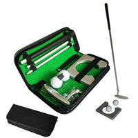 Complete Set Of Clubs Portable Golf Putter With Auto Balls And Cup Holder 3 Sections 87cm For Outdoor Putting Practice Training
