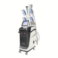 2021 Çok İşlevli Yağ Donduru Makinesi 5 Kolları Vücut Şekillendirici Cryolipolysis Zayıflama Makinesi 4 Kolları Çalışmak Tegether
