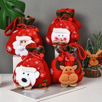 Gift Wrap Christmas Candy Packaging Bags Tree Decoration Ornaments Mystery Box Baby Shower Xams Party Supply Year 2022