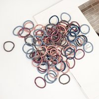 Spiral Hair Ties Candy Color Coil Headbands Lady Thread Bands 100 Pieces Pack 1220001
