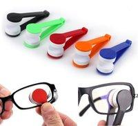 미니 태양 안경 청소기 안경 청소 도구 파티 호의 마이크로 화이버 브러시 ABS 안경 청소 HWF8520