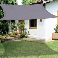 Tents And Shelters Waterproof Sun Shade Sail UV Block Canopy Awning Triangle Rectangle 3m*3m*3m 3m*2m FOR Garden Lawn Patio
