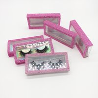 False Eyelashes Lash Packaging Diamond Empty Boxes Mink Vendor Wholesale Nail Tip Case Fake 3D Eyelash Box