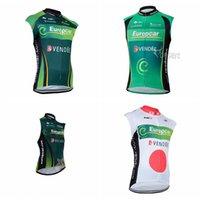 Pro Bike Europcra Team Велосипед без рукавов Джерси Жилет MTB Racing Одежда ROPA Ciclismo Мужские Велосипеды Вершины Удобные Открытый Спортивный Одежда 0937