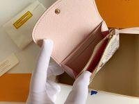2021 классический дизайнерский кошелек кошелек оптом леди короткие кошельки кошельки красочные держатель для карт женщин HASP карманные карты держатели с коробкой