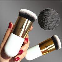 Makeup-Werkzeuge Kakubi-Bürste Runde Große Kopf Tragbare Einzelne Make-up Pinsel Schönheit Foundation Gesicht Pulver BB Creme Backude Rouge