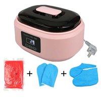 Оборудование для ногтей Art 200W Paraffin Wax Нагреватель для ручной ножной терапии Ванна Горшок теплый салон красоты салон SPA